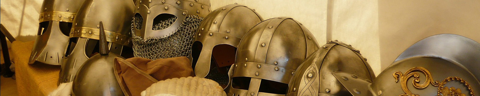 Battle Helments - Medevial