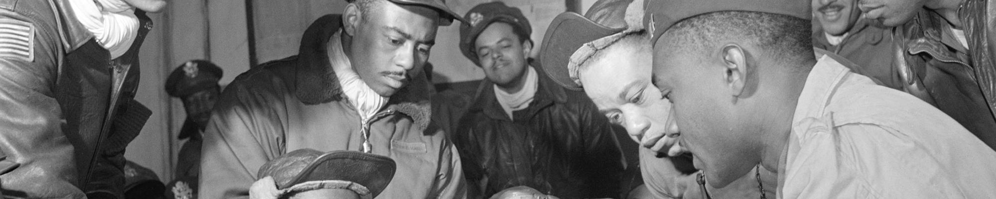 World War II African American service members